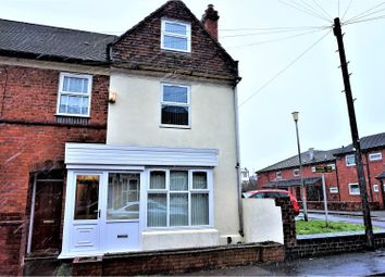 Thumbnail 4 bedroom end terrace house for sale in Whitehall Road, Cradley Heath