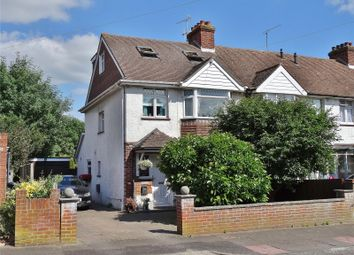 Thumbnail 4 bed end terrace house for sale in Turner Road, Broadwater, Worthing, West Sussex