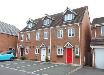 Thumbnail 3 bed town house for sale in Falconside Drive, Spondon, Derby