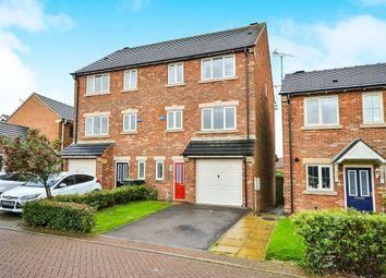 Thumbnail 4 bed semi-detached house for sale in Sherwood Dene, Kirkby-In-Ashfield, Nottingham