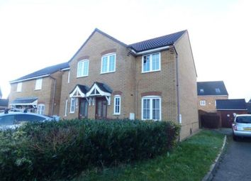 Thumbnail 3 bedroom semi-detached house for sale in Dandridge Court, Grange Farm, Milton Keynes