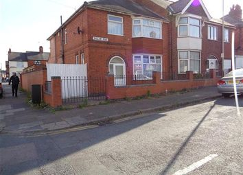 Thumbnail 4 bed semi-detached house for sale in Baslow Road, Leicester