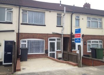 Thumbnail 3 bed terraced house to rent in Dunstable Road, Luton, Beds