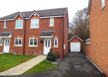 Thumbnail 2 bed semi-detached house for sale in Bilberry Grove, Buckley, Flintshire