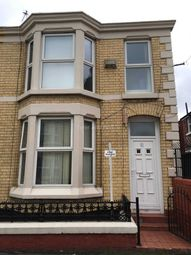 Thumbnail 4 bed shared accommodation to rent in Saxony Road, Kensington, Liverpool