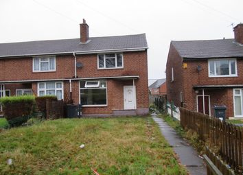 Thumbnail 2 bedroom semi-detached house to rent in Wallbank Road, Ward End, Birmingham, West Midlands