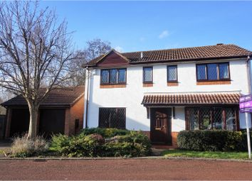 Thumbnail 4 bed detached house for sale in Laneside Hollow, East Hunsbury