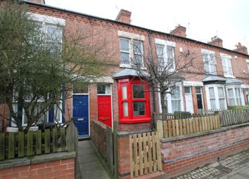 Thumbnail 3 bed terraced house for sale in Woodbine Avenue, Off London Road, Leicester