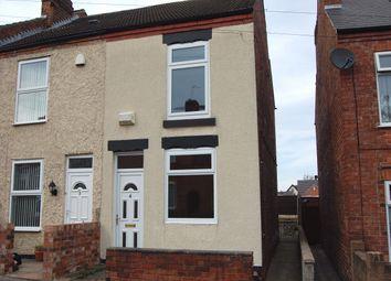 Thumbnail 2 bed end terrace house to rent in Gordon Street, Ilkeston, Derbyshire