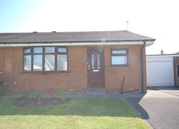 Thumbnail 2 bed semi-detached bungalow for sale in Nairn Close, Blackpool