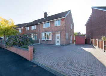 Thumbnail 3 bed semi-detached house for sale in Manor Crescent, Brinsworth, Rotherham, South Yorkshire