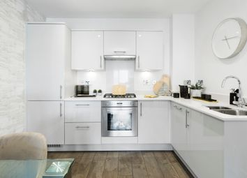 Thumbnail 2 bed flat for sale in 215 Shepperton House, Jubilee Meadows, Felcott Road, Hersham, Surrey
