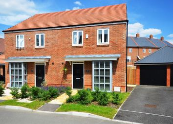 Thumbnail 3 bed semi-detached house to rent in Samborne Drive, Wokingham