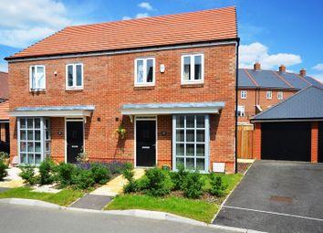 Thumbnail 3 bedroom semi-detached house to rent in Samborne Drive, Wokingham