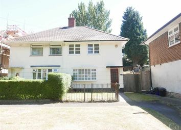 Thumbnail 3 bed semi-detached house to rent in Gregory Avenue, Northfield, Birmingham