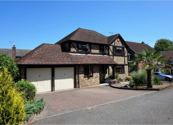 Thumbnail 4 bed detached house for sale in Jay Close, Horndean