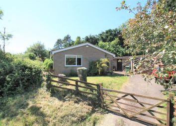 Thumbnail 3 bed detached bungalow for sale in Fromes Hill, Ledbury