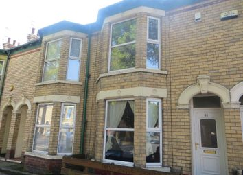 Thumbnail 2 bed terraced house to rent in Goddard Avenue, Hull