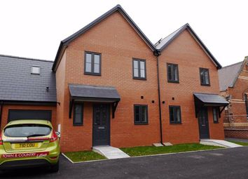 Thumbnail 3 bed semi-detached house to rent in Llys Croes Atti, Flint, Flintshire