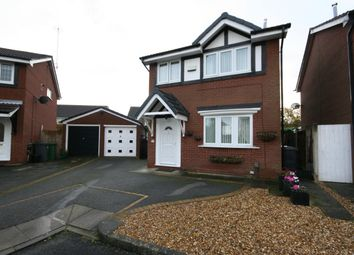 Thumbnail 3 bed detached house for sale in Crowmarsh Close, Wirral