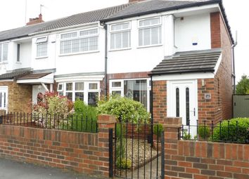 Thumbnail 2 bed end terrace house for sale in Westlands Road, Hull