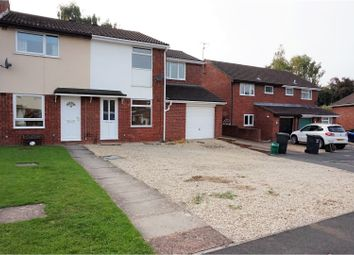 Thumbnail 3 bed end terrace house for sale in Bovet Close, Taunton