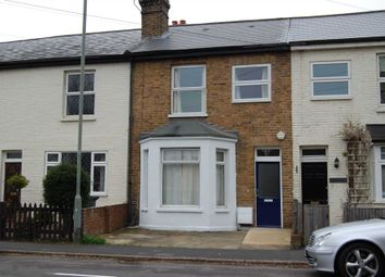 Thumbnail 3 bed terraced house to rent in Pound Road, Chertsey