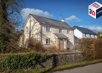 Thumbnail 4 bed detached house for sale in Drayford, Crediton