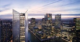Thumbnail 1 bed flat for sale in 199-207 Marsh Wall, Canary Wharf, London