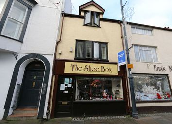 Thumbnail 2 bed terraced house for sale in Castle Street (Shoe Shop), Beaumaris, Sir Ynys Mon