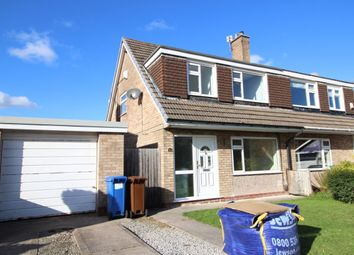 Thumbnail 3 bed semi-detached house to rent in Birkdale Close, Bramhall, Stockport