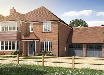 Thumbnail 4 bed detached house for sale in Oak Tree Close, Farnham Road, Odiham, Hampshire