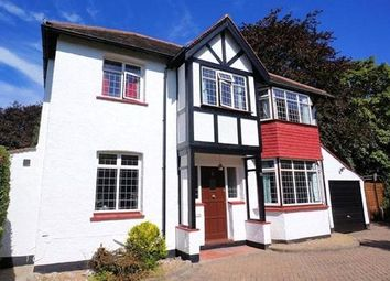 Thumbnail 4 bed detached house to rent in Briton Hill Road, Sanderstead, South Croydon