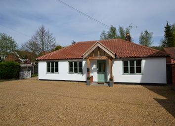 Thumbnail 3 bed detached bungalow for sale in Church Street, Litcham, King's Lynn, Norfolk.