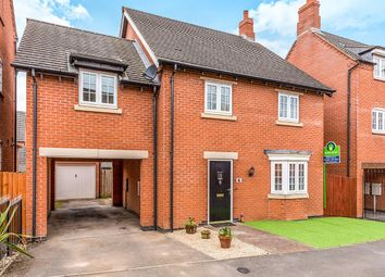 Thumbnail 4 bed detached house for sale in Cranfield Avenue, Church Gresley, Swadlincote