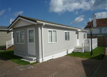 Thumbnail 2 bedroom mobile/park home for sale in Blue Dolphin Park, Reculver, Herne Bay, Kent
