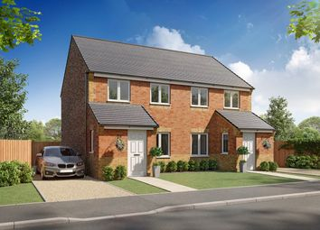 Thumbnail 3 bed semi-detached house for sale in Plot 28, Wicklow, Moorside Place, Valley Drive, Carlisle