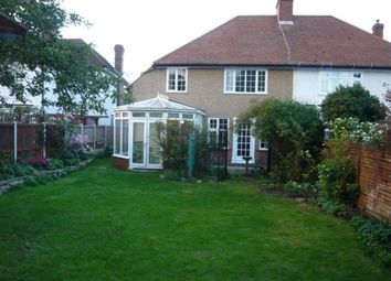 Thumbnail 4 bed semi-detached house to rent in Bodley Road, New Malden, Surrey