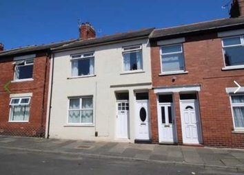 Thumbnail 3 bed flat for sale in Lilburn Street, North Shields