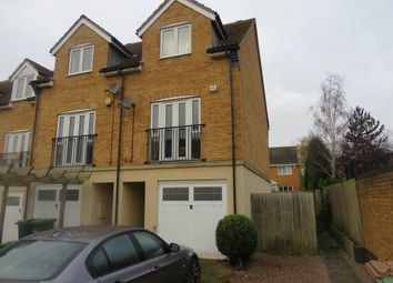Thumbnail 3 bed end terrace house for sale in St Katherines Mews, Hampton Hargate, Peterborough