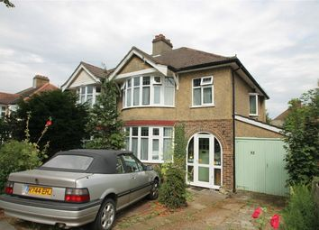 Thumbnail 3 bed semi-detached house for sale in Temple Avenue, Shirley, Croydon, Surrey