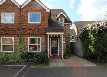 Thumbnail 3 bed semi-detached house for sale in Burns Close, Carshalton