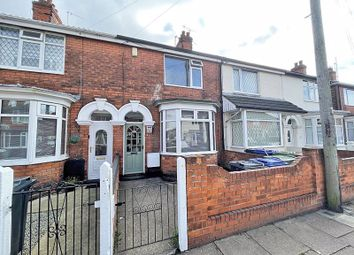 Thumbnail 3 bed terraced house for sale in Imperial Avenue, Cleethorpes