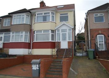 Thumbnail 5 bedroom semi-detached house for sale in Grove Crescent, Kingsbury