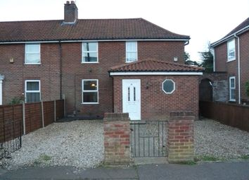 Thumbnail 3 bed semi-detached house for sale in Peterson Road, Norwich