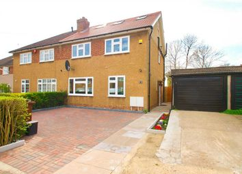 Thumbnail 4 bed semi-detached house for sale in Craigweil Close, Stanmore