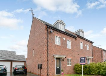 Thumbnail 4 bedroom semi-detached house for sale in Jersey Close, Coventry