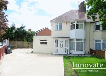 Thumbnail 3 bed semi-detached house for sale in Quinton Lane, Quinton, Birmingham