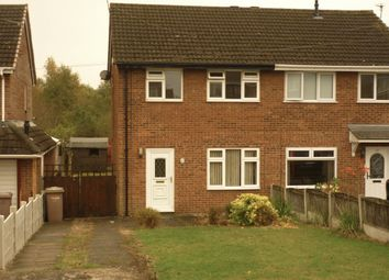 Thumbnail 3 bed semi-detached house to rent in Wedge Avenue, Haydock, St. Helens