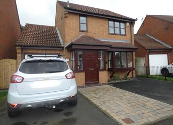 Thumbnail 3 bed detached house for sale in Murrayfield, Seghill, Northumberland